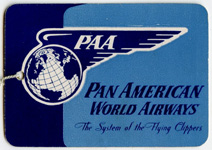 PAA-Flying Clipper Tag