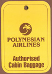 Polynesian Airlines Bag Tag