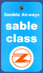 Zambia Airways-Sable Class