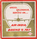 AI Boeing 707 Match Box