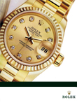 Rolex Oyster Perpetual Datejust 18 ct Gold