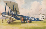 Imperial Airways Argosy at Croydon Airport