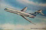 Nigeria Airways VC-10 Artist Impression