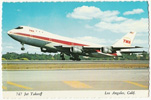 TWA 747 at Los Angeles Airport