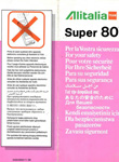 Alitalia Super 80 1996 Issue